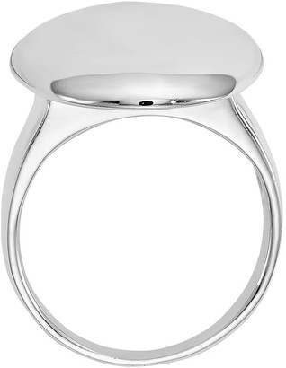 Sterling Geometric Shape Ring