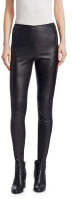 Ralph Lauren Iconic Style Eleanora Leather Leggings