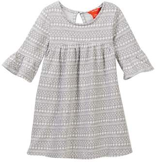 Joe Fresh Jaquard Dress (Toddler & Little Girls)