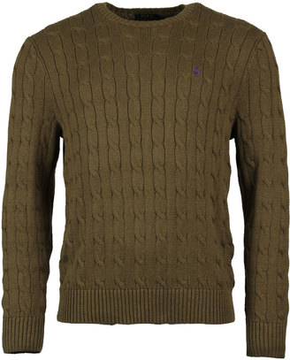 Cable Knit Jumper A40XZOSR-XYOSRX-WOXW Olive