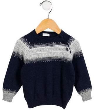 Lili Gaufrette Infants' Wool-Blend Fair Isle Sweater
