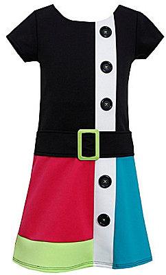 Bonnie Jean 4-6X Colorblock Dress