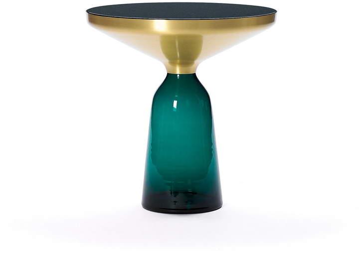 ClassiCon – Bell Beistelltisch, Messing / smaragd-grün