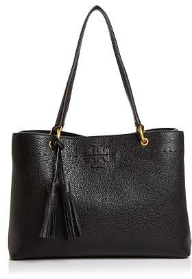 Tory Burch McGraw Medium Leather Shoulder Tote