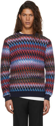 Missoni Multicolor Zig Zag Sweater