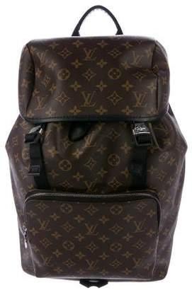 Louis Vuitton 2017 Monogram Macassar Zack Backpack