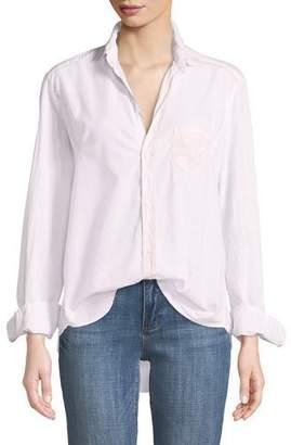 Frank And Eileen Eileen Button-Front Shirt, Light Pink