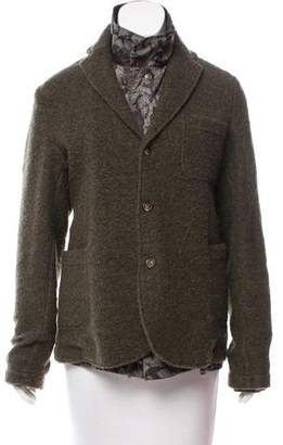 Bark Reversible Wool Jacket