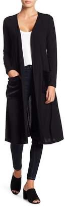 Couture Go GO Modest Faux Fur Pocket Cardigan