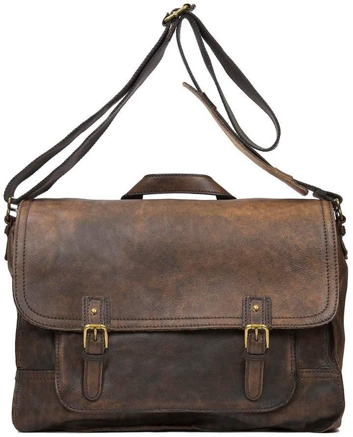 Nash For Men Tuscan Leather Messenger Bag