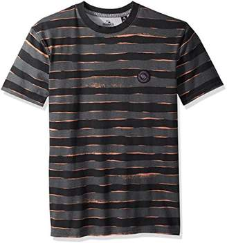Quiksilver Men's Short Sleeve Allover Print Mad Wax
