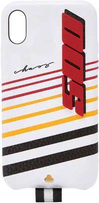 Chaos M'O Exclusive White Leather Speed 500 X iPhone Case
