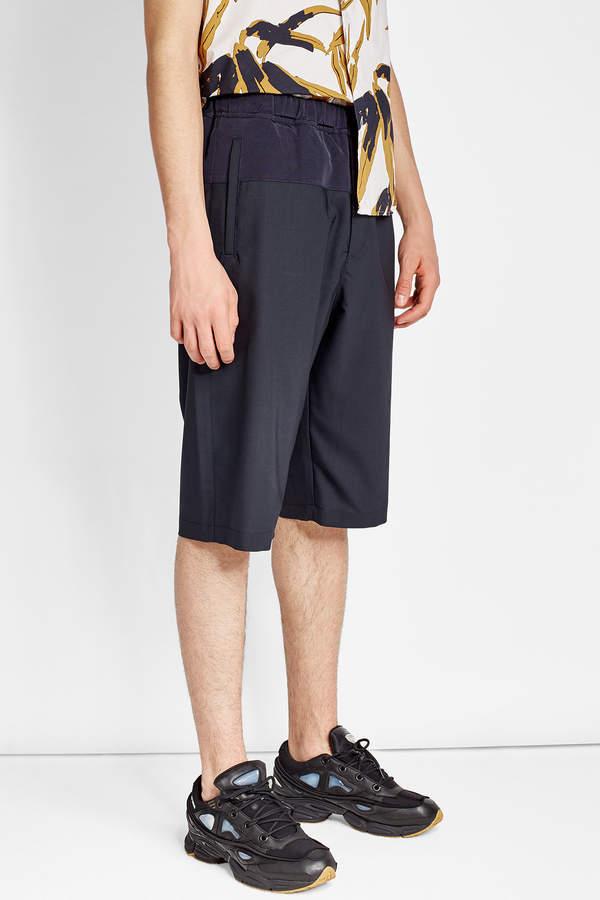 Oamc Shorts in Virgin Wool