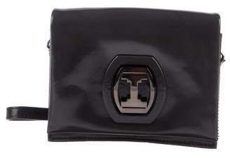 Halston Mini Patent Leather Crossbody Bag