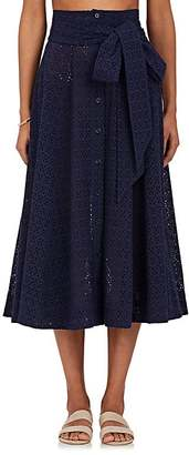Lisa Marie Fernandez Women's Cotton Cover-Up Maxi Skirt $575 thestylecure.com
