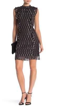 Julia Jordan Sleeveless Metallic Dress