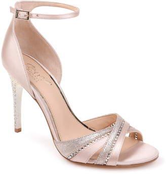 fb8f22e660 Badgley Mischka White Toe Strap Women's Sandals - ShopStyle