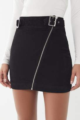 Urban Outfitters Harmony Corduroy Zip-Front Skirt