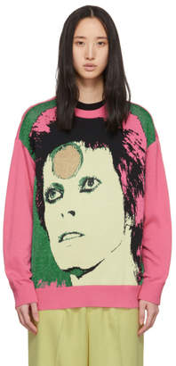 Undercover Pink David Bowie Sweater