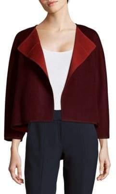 Lafayette 148 New York Reversible Odene Open Jacket
