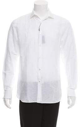 John Varvatos French Cuff Button-Up Shirt w/ Tags