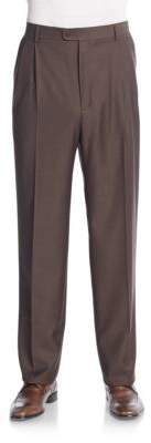 Bennett Virgin Wool Trousers $345 thestylecure.com