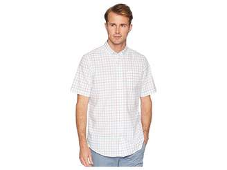 Chaps Short Sleeve Cotton Woven Shirt Men's Clothing