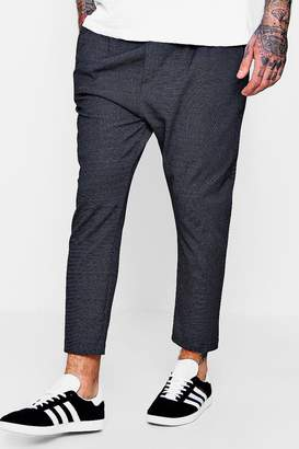 boohoo Smart Coloured Polkadot Woven Jogger