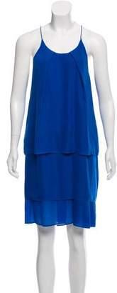 Acne Studios Satya Tape Tiered Dress