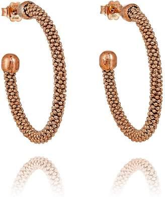 Durrah Jewelry - Rose Spring Hoop Earrings
