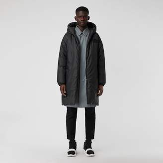 Burberry Down-filled Oversized Hooded Coat