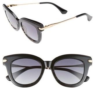Women's Sonix Elliot 48Mm Cat Eye Gradient Sunglasses - Black Fade/ Black $79 thestylecure.com
