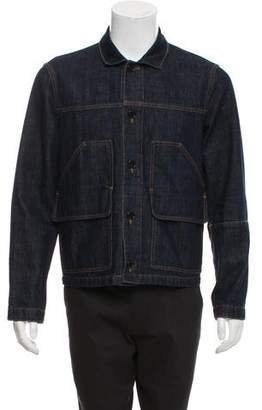 Marni Denim Button-Up Jacket