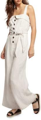 Dex Stripe Wide-Leg jumpsuit