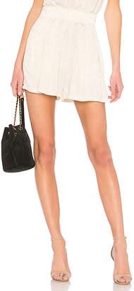 Raquel Allegra Pleat Shorts