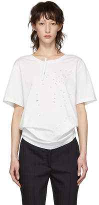 MM6 MAISON MARGIELA White Connect The Dots T-Shirt