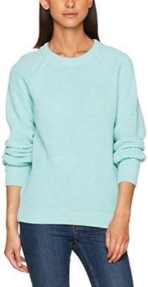 Peter Jensen Women's Waffle Knit Jumper,(Manufacturer Size: Medium)