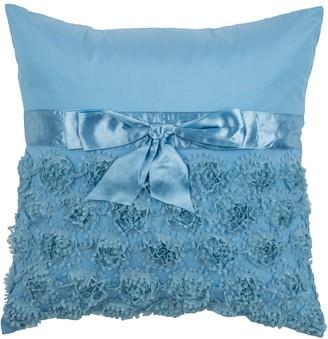 Rizzy Home Ruffle Cutouts Throw Pillow