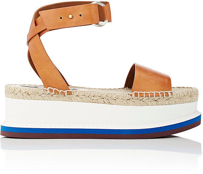 Stella McCartney Women's Faux-Leather Platform Sandals