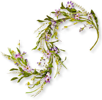 Co National Tree 5 ft. Spring Flower Garland