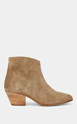 Isabel Marant Women's Dacken Suede Ankle Boots - Taupe