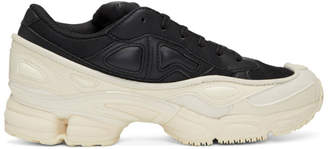 Raf Simons Black and White adidas Originals Edition Ozweego Sneakers