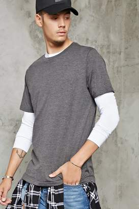 Forever 21 Classic Heathered Tee