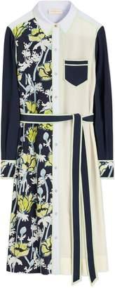 Tory Burch Silk Patchwork Dress