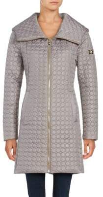 Dawn Levy Gwena Quilted Hooded Walker Coat