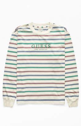 GUESS Deke Stripe Long Sleeve T-Shirt