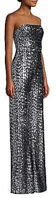 Alexis Women's Carleen Wide Leg Sequin Jumpsuit