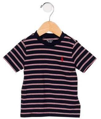 Ralph Lauren Boys' Striped Short Sleeve T-Shirt