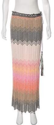 Missoni Knit Maxi Skirt