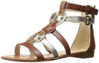Nine West Women's Irvette Synthetic Gladiator Sandal